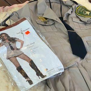 Leg Avenue Sheriff Police Officer Cop Costume